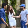 Riteish Deshmukh, Kalki Koechlin and Saif Ali Khan snapped enjoying their time at Mehboob Studios