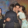 Shahrukh Khan and Deepika kiss Sonu Sood at the Song Launch of Happy New Year