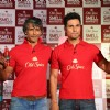 Milind Soman and Randeep Hooda at the 'Mantastic Event' by Old Spice
