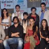 Team poses for the media at the Launch of Mahrakshak Aryan