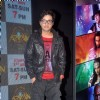 Aakarshan Singh poses for the media at the Launch of Mahrakshak Aryan