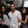 Sana Khan, Shaleen Bhanot and Muskan Arora snapped at Team Mumbai Warrior's Surprise Bash