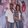 Ajay Devgn and Sonakshi Sinha pose for the media at the Song Launch of Action Jackson