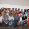 Aditya Roy Kapur and Kunaal Roy Kapur pose with the artists at Cerafest