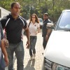 Sussanne Khan snapped outside Bandra Court