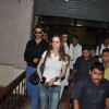 Hrithik Roshan and Sussanne Khan snapped at Bandra Court