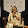 Jaya Bachchan adressing the audience at Tata Lit Fest