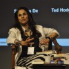 Shobha De snapped at Tata Lit Fest
