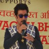 Shakti Kapoor addressing the crowd at Cleanliness Drive by Nahar Group