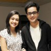 Aakarshan Singh with Abigail Jain