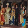 Cast of Singhasan Battisi at the Launch