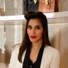 Sophie Choudry poses for the media at Michael Korrs Store Launch
