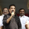 Kamal Haasan addressing the crowd at the Launch of Lake Cleaning Movement