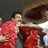 Kamal Haasan felicitated at the Launch of Lake Cleaning Movement