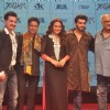 Team of Tevar poses for the media at the Trailer Launch