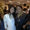 Tanishaa Mukerji with Usha Uthup at the Kolkatta Film Festival