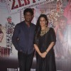 Mona Jaswir Singh and Adil Hussain pose for the media at the Launch of the Film Zed Plus