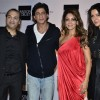 Gauri and Shah Rukh Khan pose with friends at The Design Cell and Maison and Objet Cocktail Evening