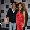 Gauri and Shah Rukh Khan pose for the media at The Design Cell and Maison and Objet Cocktail Evening