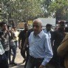 Mukesh Bhatt was snapped at Ravi Chopra's Funeral