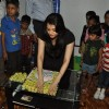 Aishwarya Rai Bachchan was snapped arranging sweets for Children at Smile Train Organisation