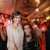 Sonam Kapoor poses with her Mother Sunita Kapoor at Anamika Khanna's Bvlgari Show