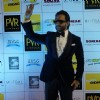 Saif Ali Khan waves to the fans at the Premier of Happy Ending in Delhi