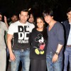 Shahrukh & Salman Khan Snapped with Arpita Khan