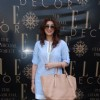 Twinkle Khanna was seen at The Charcoal Project New Collection Launch