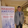 Boman Irani poses for the media at Namaste America Event