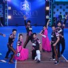 Delhi Dragons perfroming at the Opening Ceremony of Box Cricket League