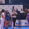 Sonakshi Sinha was snapped playing cricket at the Opening Ceremony of Box Cricket League