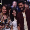 Sonakshi Sinha, Ekta Kapoor and Prabhu Deva at the Opening Ceremony of Box Cricket League