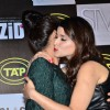 Mannara Chopra gives Priyanka Chopra a hug at the Music Launch of Zid
