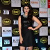 Mannara Chopra poses for the media at the Music Launch of Zid