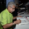 Naseeruddin Shah signs autograph at the Launch of his Book, 'And Then One Day'