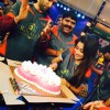 Tina Dutta cuts her Birthday Cake