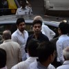 Karan Johar and Ayan Mukerji were snapped at Murli Deora's Prayer Meet
