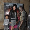 Manyata Dutt poses with her son at the Special Screening of Ungli