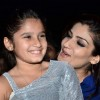 Raveena Tandon with her daughter at the Mumbai Finale of Shiamak's Winter Funk