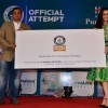 Shraddha Kapoor unviels the award of Himalaya Guinness Record Event
