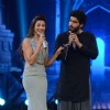 Gauahar Khan in a gig with Arjun Kapoor at the Grand Finale of India's Raw Star
