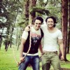Saurabh Raaj Jain with best friend Shaheer Sheikh offscreen Mahabharat