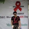 Harish Kumar poses for the media at Medscape India AIDS Awareness Event
