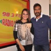 Promotions of Action Jackson at Radio Mirchi