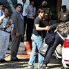 Shah Rukh Khan was snapped at Private Airport