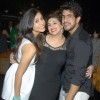 Kishwer Merchantt and Suyyash Rai pose with Vahbbiz Dorabjee Dsena at her Birthday Bash