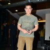 Aamir Khan poses for the media at Son Azad Rao Khan's Birthday Bash