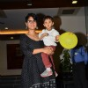 Kiran Rao poses with Son Azad Rao Khan at his Birthday Bash