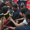 Varun Dhawan was mobbed by fans at Mithibai College Festival